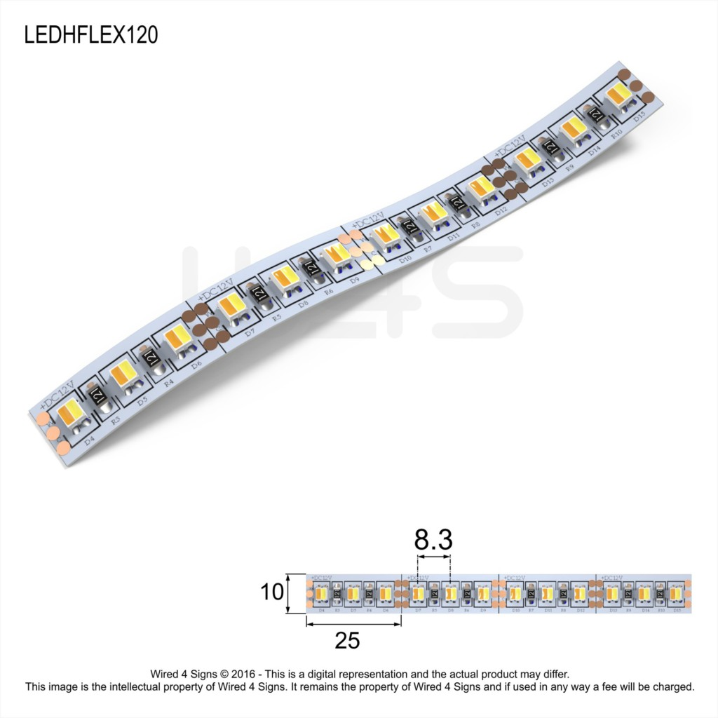 led flexible strip lighting perspex south africa previously wired4signs. Black Bedroom Furniture Sets. Home Design Ideas
