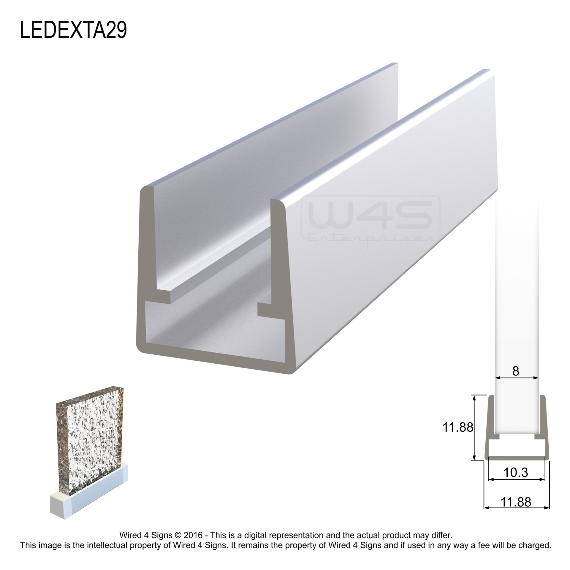 Led Profiles And Accessories Perspex South Africa